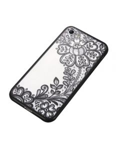 Lace Flower Hard TPU Case Floral Phone Case for Apple iPhone 6/6S - Abstract