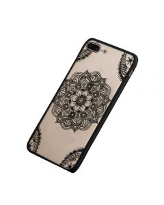 Lace Flower Hard TPU Case Floral Phone Case for Apple Apple iPhone X / iPhone XS - Abstract