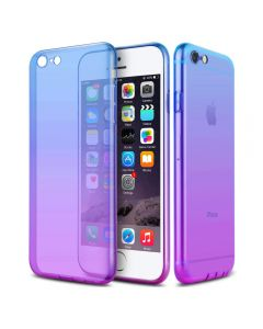 Luxury Gradient Ultra Thin Plastic Cover Case For iPhone 6/6S