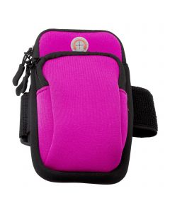 Universal Running Fitness Arm Band Sport Phone Arm Bag For iPhone and Android - Pink