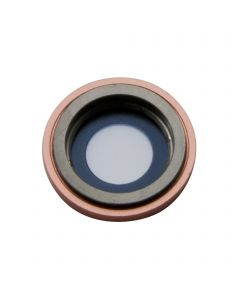 Apple iPhone XR Rear Facing Camera Lens with Bezel Replacement - Coral