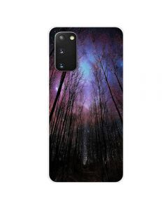 TPU Silicone Soft High Quality 3D Print Back Cover Case For Samsung Galaxy S20 5G - Forest Design