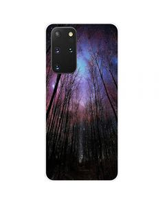 TPU Silicone Soft High Quality 3D Print Back Cover Case For Samsung Galaxy S20+ Plus 5G - Forest Design