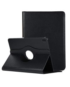 360 Degree Rotating Flip PU Leather Case Protective Smart Case Cover Stand For Apple iPad Pro 10.5 inch (2017) - Black
