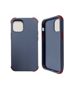 """Two-color Shockproof Anti Drop Soft Silicone Protective Cover Case For Apple iPhone 12 Mini 5.4""""- Soft Blue"""