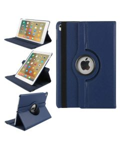 360 Degree Rotating Flip PU Leather Smart Case Cover For Apple iPad Air 10.5 (2019) / iPad Air 3 - Blue
