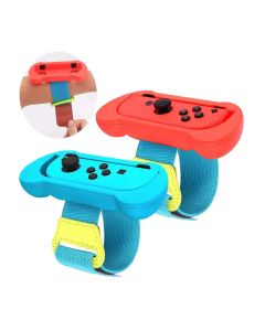 2-in-1 Wristband Adjustable Elastic Strap With Hook For Nintendo Switch Joy Cons Controllers (Controllers Not Included)