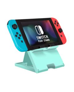 Adjustable Holder Stand Game Chassis Bracket Playstand Cradle Support For Nintendo Switch / Switch Lite - Light Green