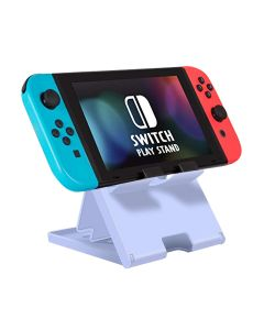 Adjustable Holder Stand Game Chassis Bracket Playstand Base Cradle Support For Nintendo Switch / Switch Lite - Purple