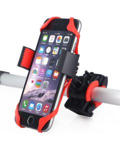 iPhone Android Stand Clip Motorcycle Mobile Phone Holder MTB Mount GPS Gadget Bicycle Phone Holder