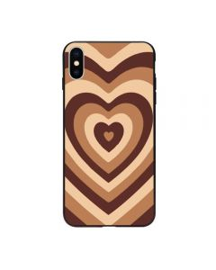 Soft Silicone Stylish Love Coffee Heart Design Back Phone Case Cover For Apple iPhone X (10) / iPhone XS