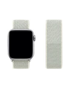 Adjustable Stretchy Nylon Solo Sport Loop Band For 38mm/40mm Apple iWatch Series 1/2/3/4/5/6 - Spruce Aura