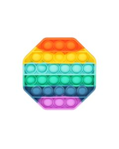 Rainbow Fidget Toy Push It Board Game Toy Stress Reliever