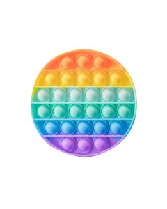 Circle Rainbow Fidget Toy Push It Board Game Toy Stress Reliever