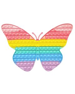 Butterfly Design Fidget Toy Push It Board Game Toy Stress Reliever