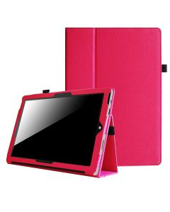 Full Body Protective Case Smart Case Cover For Microsoft Surface Pro 3 / 4 - Hot Pink