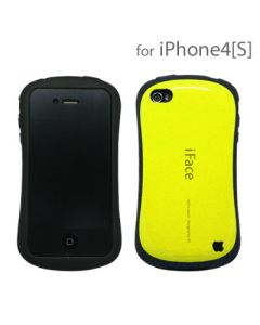 iFace Ultra Shock-Absorbing Bumper Case Cover Skin Protect for iPhone 4 - Yellow