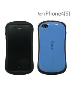 iFace Ultra Shock-Absorbing Bumper Case Cover Skin Protect for iPhone 4 -Baby Blue