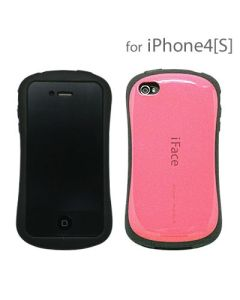 iFace Ultra Shock-Absorbing Bumper Case Cover Skin Protect for iPhone 4 - Pink