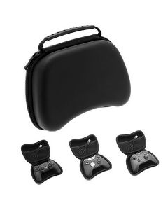 Portable Game Controller Storage Bag Carrying Case For Sony PS5/PS4/Slim/Pro/Xbox One/360/Nintendo Switch - Black