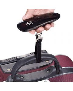Luggage Scale 50kg x 50g Mini Portable Electronic Weight Hanging Hook Digital Scale