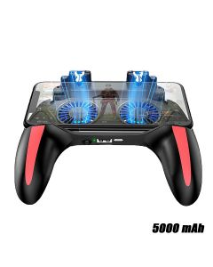 PUBG Fortnite Call Of Duty Mobile Game Controller Joystick With Dual Fan Cooling For iOS Android With 5000mah Power Bank