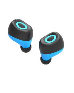 Mini Wireless Invisible Earphone with Microphone Sport Stereo Handsfree Earbuds (1 Piece)