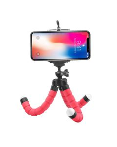 360 Universal Flexible Sponge Octopus Selfi Vlog Tripod Stand Holder For iPhone's / Android Smartphone's / DSLR Camera's