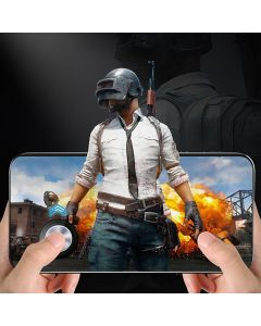 Round Joystick Metal Button PUBG Call of Duty Controller Rocker With Suction Cup For Android Phone/Tablet/iPhone/iPad