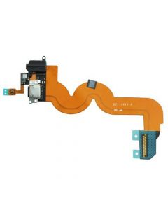 Dock Connector Charging Port Flex Cable For iPod Touch 5 - White