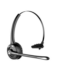 Delton Over-the-Head Bluetooth Wireless Headset Noise Canceling Hands Free 18 Hours of Talk Time With Microphone Control