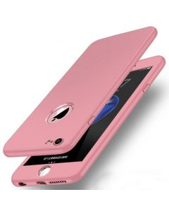 Luxury Soft TPU 360 Full Cover Cases For iPhone 6/6S - Pink