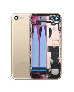 "Replacement Back Housing With Parts Compatible With Apple iPhone 7 4.7"" - Gold"