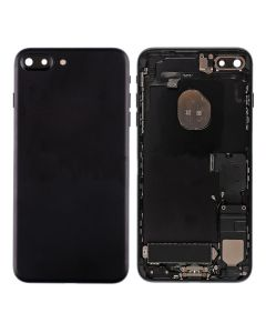 """Replacement Back Housing With Parts Compatible With Apple iPhone 7 Plus 5.5"""" - Matt Black"""