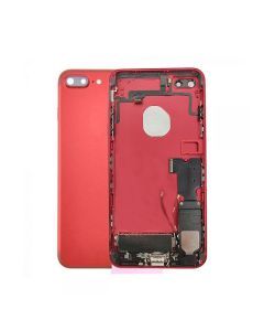 """Replacement Battery Back Housing Cover With Parts For Apple iPhone 7 Plus 5.5"""" - Red"""