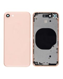 Replacement Back Housing Cover Without Parts Compatible With Apple iPhone 8 - Gold