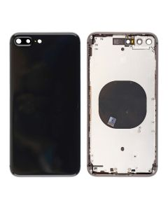 Replacement Back Housing Cover Without Parts Compatible With Apple iPhone 8 Plus - Space Grey / Black