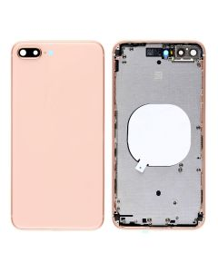 Replacement Back Housing Cover Without Parts Compatible With Apple iPhone 8 Plus - Gold