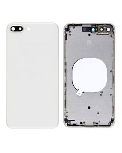 Replacement Back Housing Cover Without Parts Compatible With Apple iPhone 8 Plus - Silver