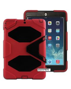 Heavy Duty Protective Case Cover for Apple iPad Air 1 - Red (Default)
