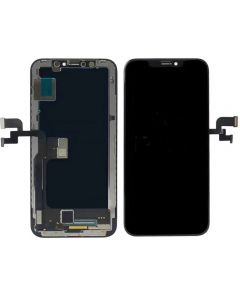 Replacement AAA Quality LCD Screen And Digitizer Assembly With Frame Compatible With Apple iPhone X - Black/Space Grey