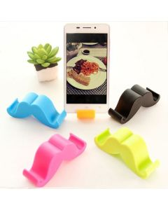 Universal Silicone Stand Holder Bracket For iPhone And Android - Black
