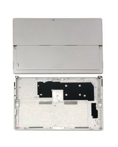 Replacement Battery Back Housing Bottom Cover Chasis Compatible With Microsoft Surface Pro 5 12.3'' (1796) - Silver
