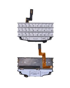 Blackberry Q10 Keyboard with Flex Cable - White