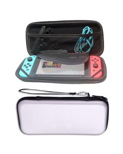 Hard Protective Pouch Bag Case Cover Bag Accessory For Nintendo Switch Console NS V1 V2 - White
