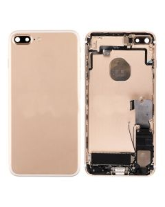 """Replacement Back Housing With Parts Compatible With Apple iPhone 7 Plus 5.5"""" - Gold"""