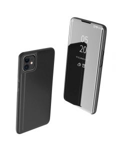 Full 360 Body Protective Mirror Case Cover For Apple iPhone 11 6.1'' - Black