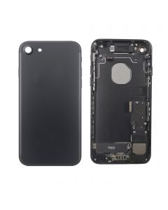 "Replacement Back Housing With Parts Compatible With Apple iPhone 7 4.7"" - Black"