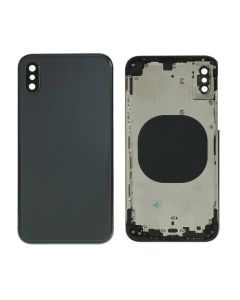 Replacement Battery Back Housing Glass Cover Compatible With Apple iPhone XS - Space Grey/Black