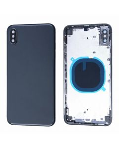 Replacement Battery Back Housing Glass Cover Compatible With Apple iPhone XS Max - Space Grey/Black
